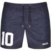 Product Image for BALR 10 Logo Swim Shorts Navy